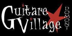 Logo guitare Village